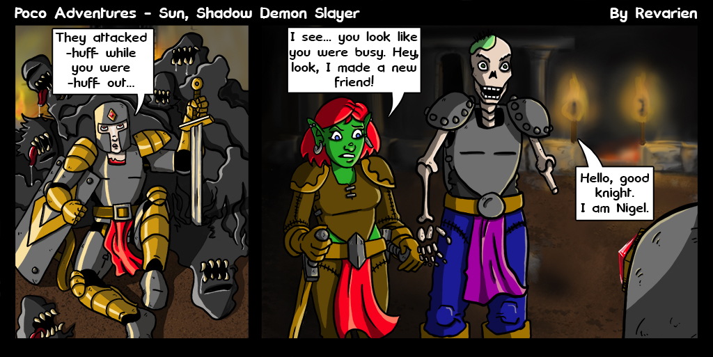 Throne of Shadows. That's coined now - if you use it, you owe me a nickle... :P