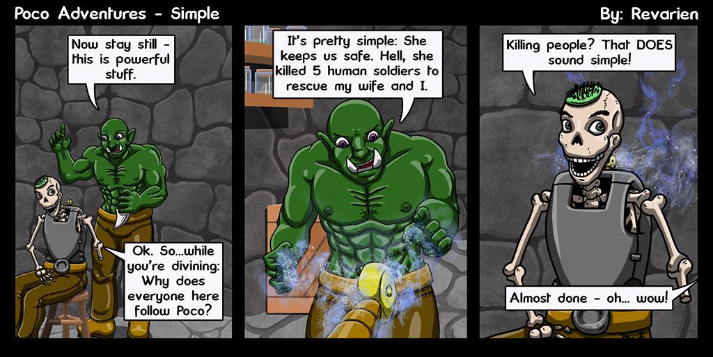 Divining magic: Also good as a bug zapper!