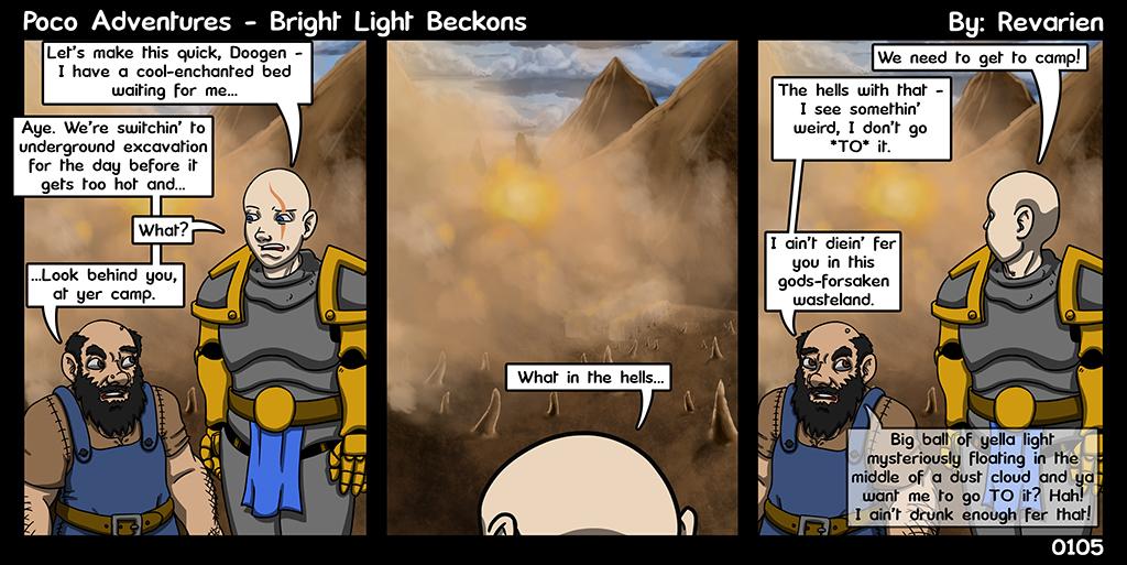 Go into the light.... AHHHHHH IT BURNS!